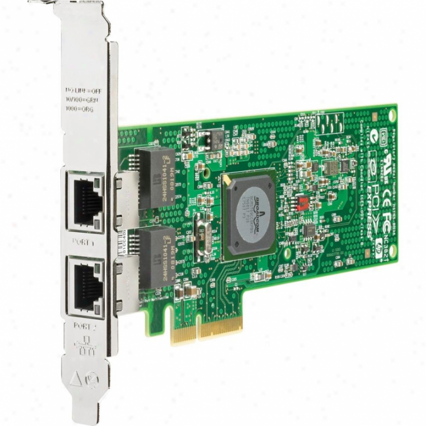 Hp Nc382t Pcie Dp Gigabit Svr Adp