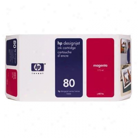 Hp No 80 Magenta Ink Cartridge
