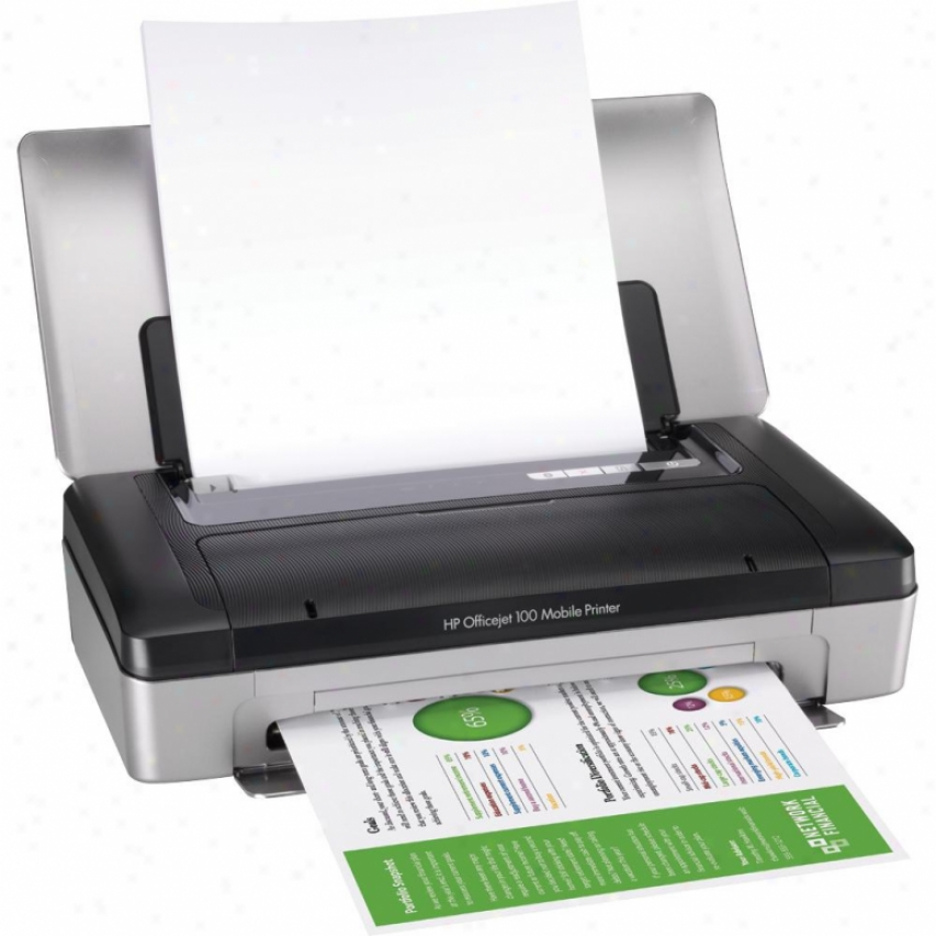 Hp Officejet 100 Bluetooth Mobile Color Printer