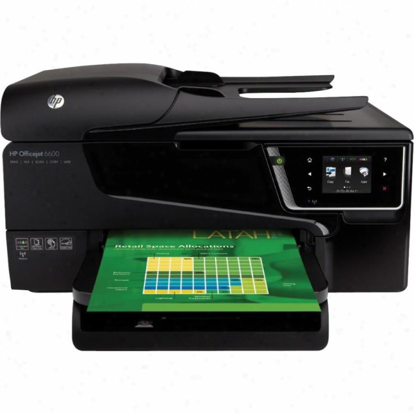 Hp Officejet 6600 All-in-one
