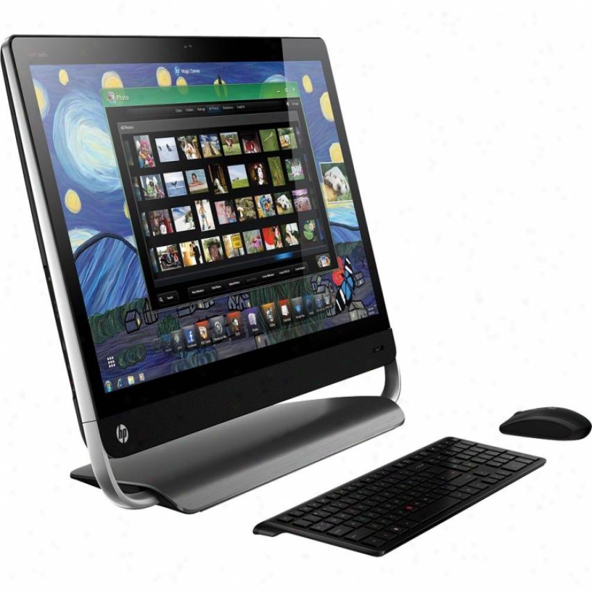 "Hp Omni 27-1054 27"" Full Hd Lcd All-in-one Desktop Pc"