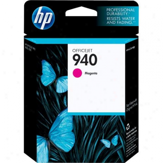Hp Open Box C4904an#140 940 Magenta Officejet Ink Cartridge