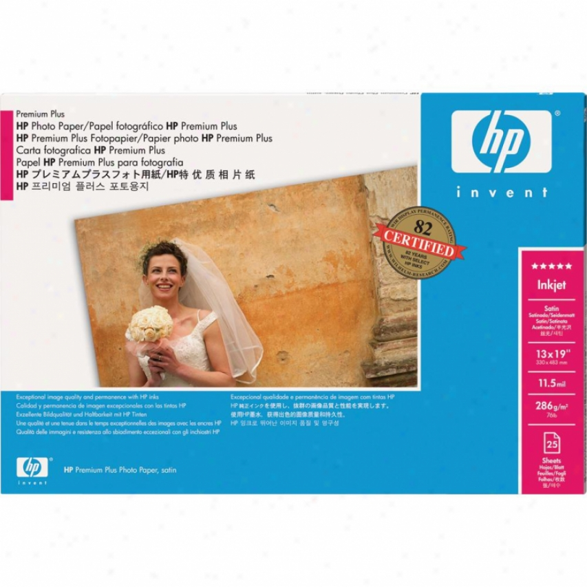 Hp Premium Plus Photo Satin