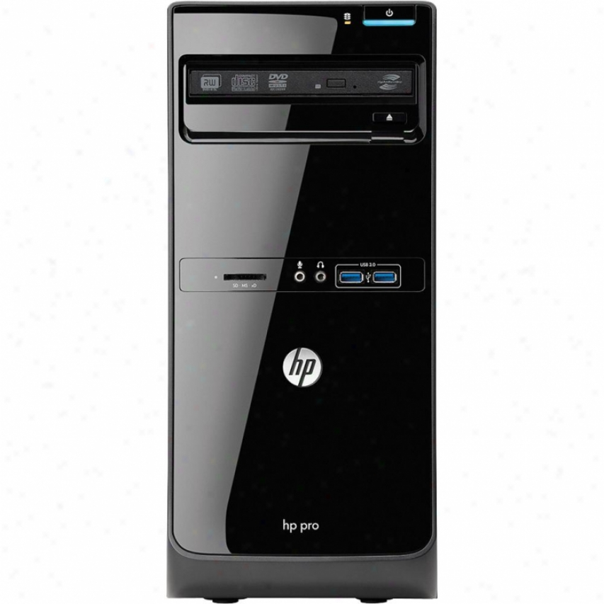 Hp Pro 3400 Microtower Business Desktop Pc - Xz939ut