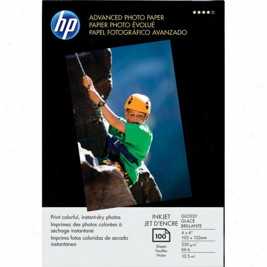 Hp Q6638a Glossy 4 X 6 Advance dPhoto Paper