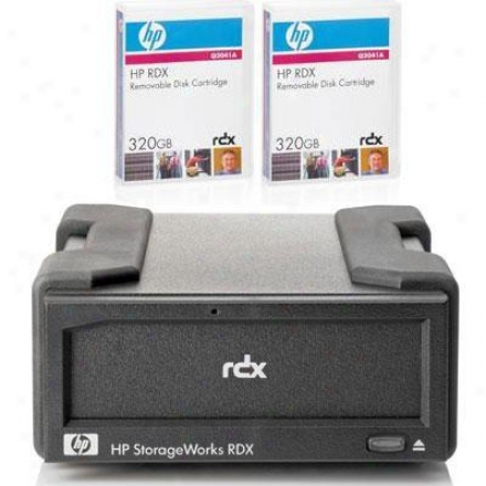 Hp Rdx320 System With 2 Cartridge