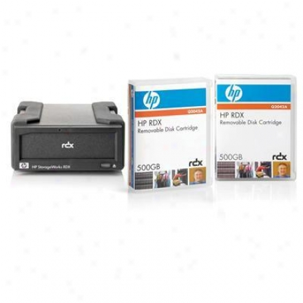 Hp Rdx500 System With 2 Cartridge