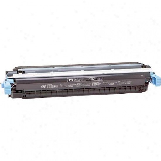 Hp Replacement Black Toner Ink Cartridge F/ Laserjet 5500 Printer