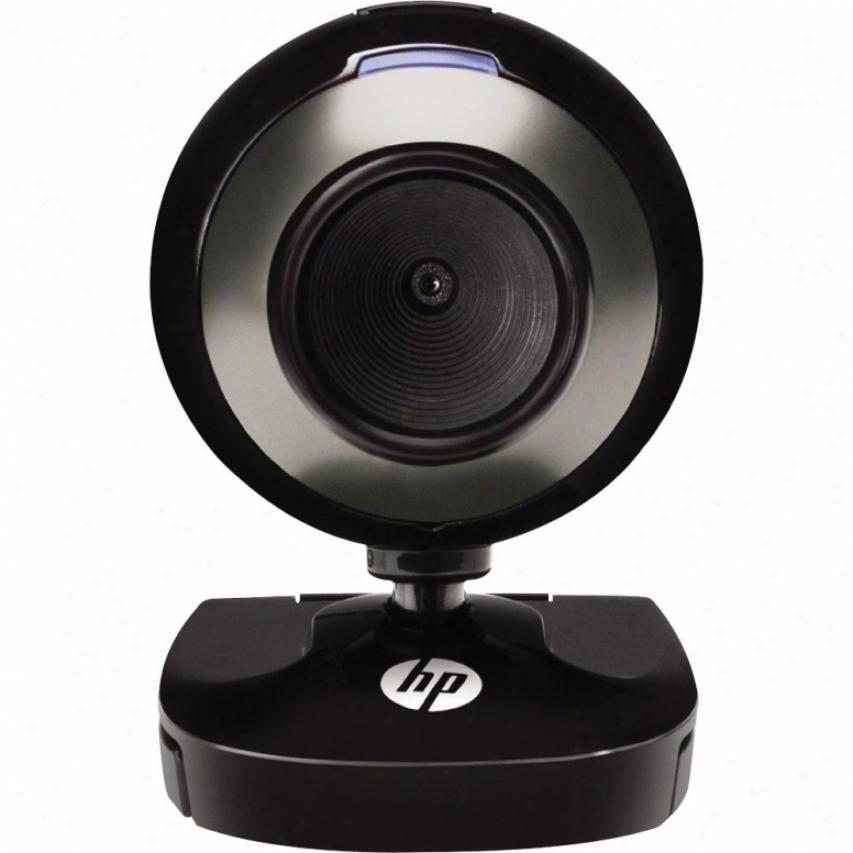 Hp Webcam Hd-2200 Br384aa#aba - Black