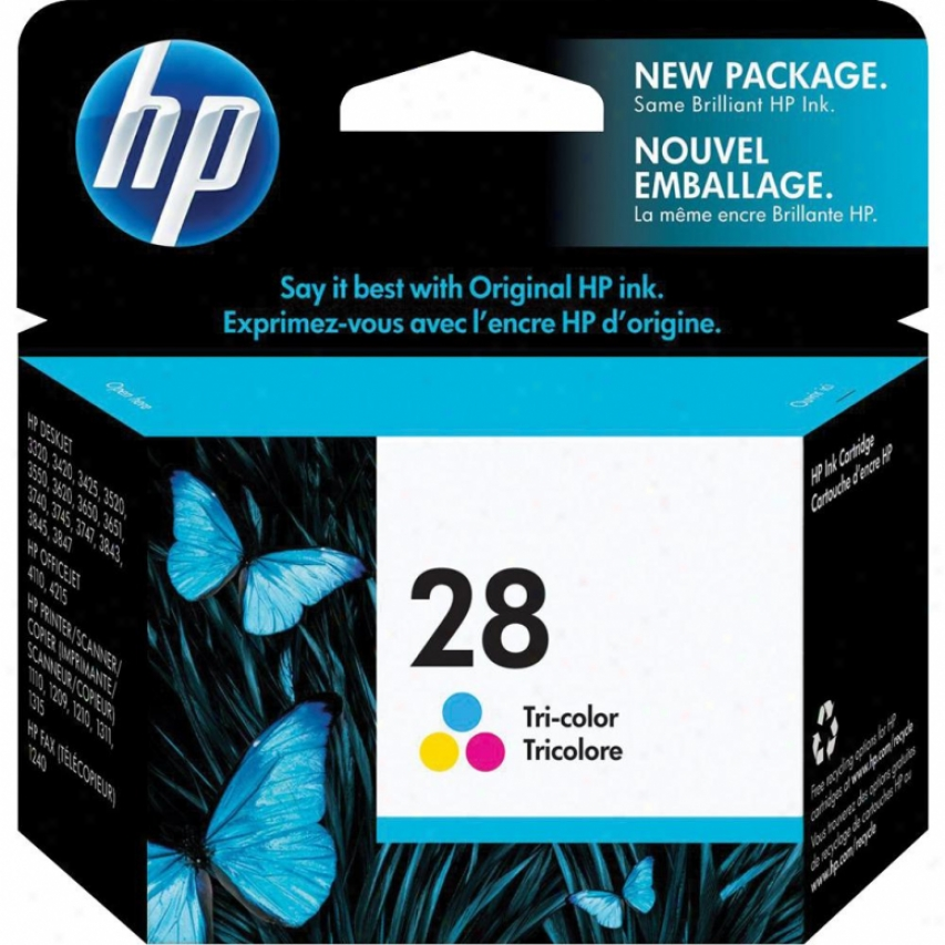 Hp28 Tri-color Inkjet Cartridg