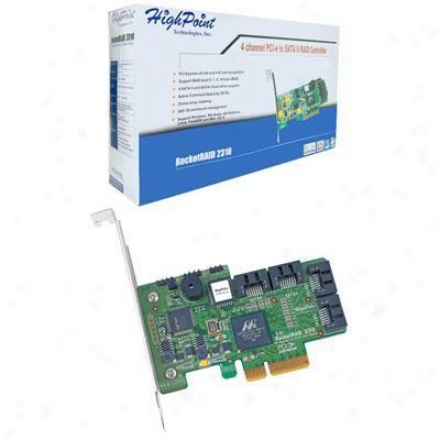 Hpt Usa/highpoint Tech 4channel Pci-express Control