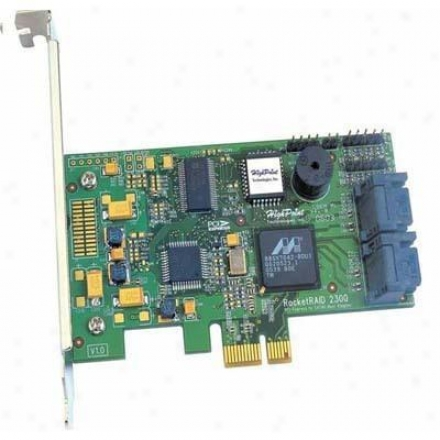 Hpt Usa/highpoint Tech 4channel Pci-express Host Adap