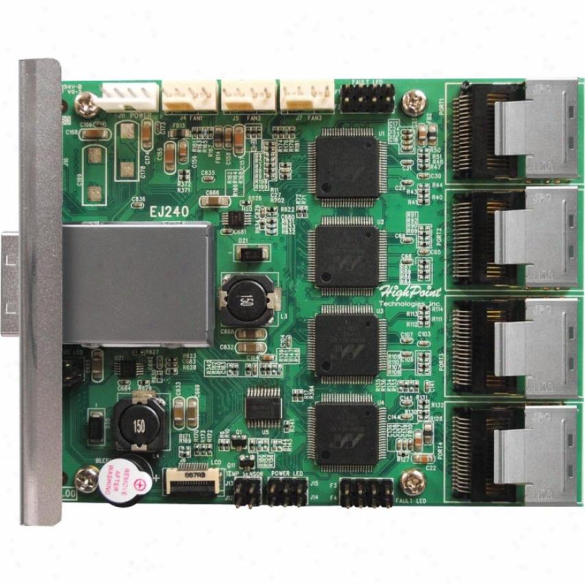 Hpt Usa/highpoint Tech Ext. Sata Jbod Device Board