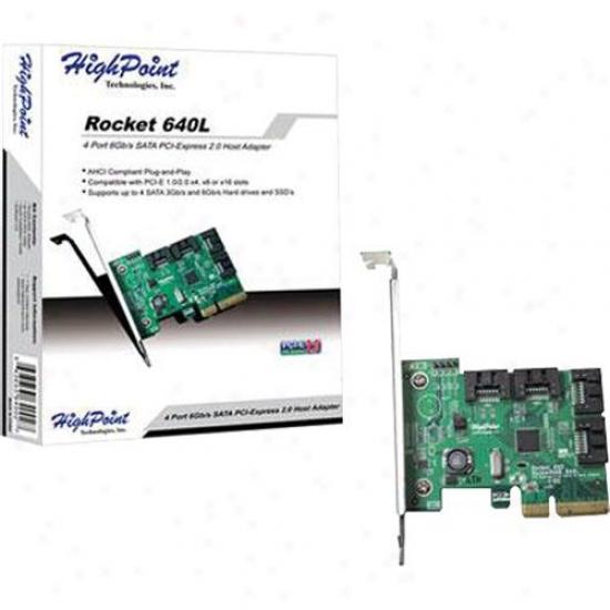 Hpt Usa/highpoint Tech Pcie-2.0 Host Adapter
