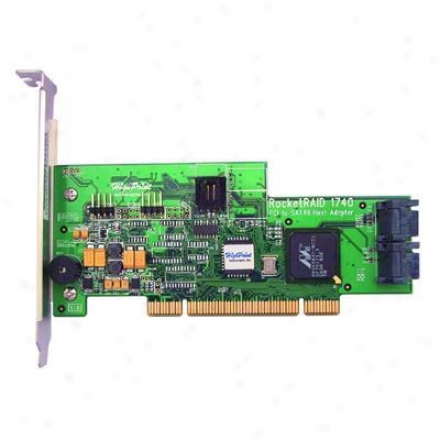 Hpt Usa/highpoint Tech Rr1740 4 Channel Pci Sata Ii