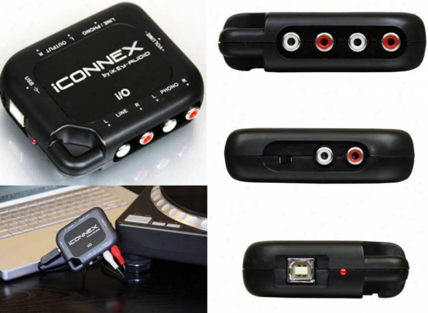 Ikey Portable Usb Sound Card