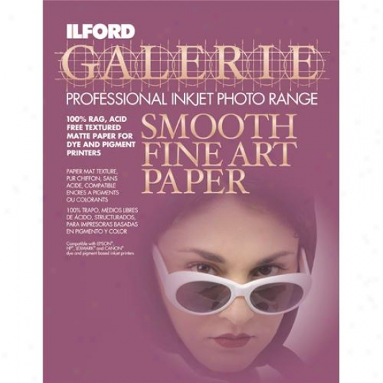 Ilford Galerie Smooth Keen Art Matte Surface Inkjet Paper 1124558