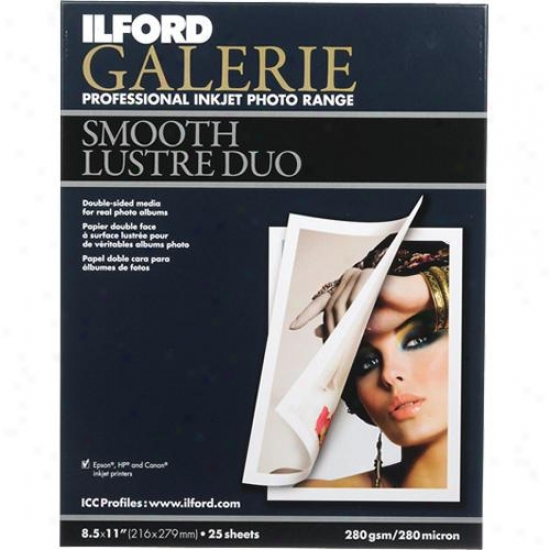 Ilford Galefie Smooth Lustre Duo 8.5x11 - 25 Sheets