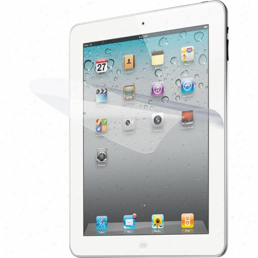 Iluv Clear Protective Film Kit In the place of Ipad 2 And New Ipad Icc1197