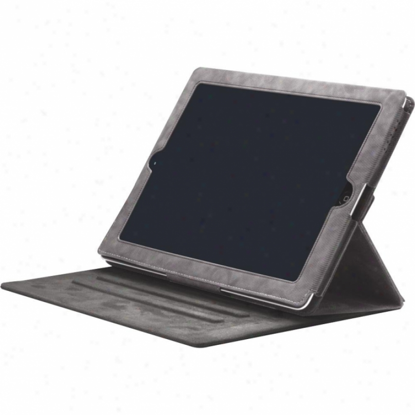 Iluv Hard Jeans Portfolio Case For New Ipad Icc834blk Black