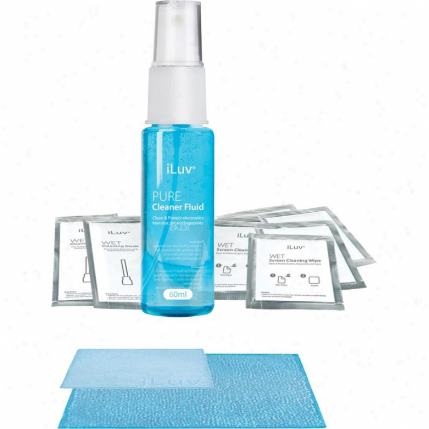 Iluv Icl45 Pure Cleaner For Ipad - 60ml