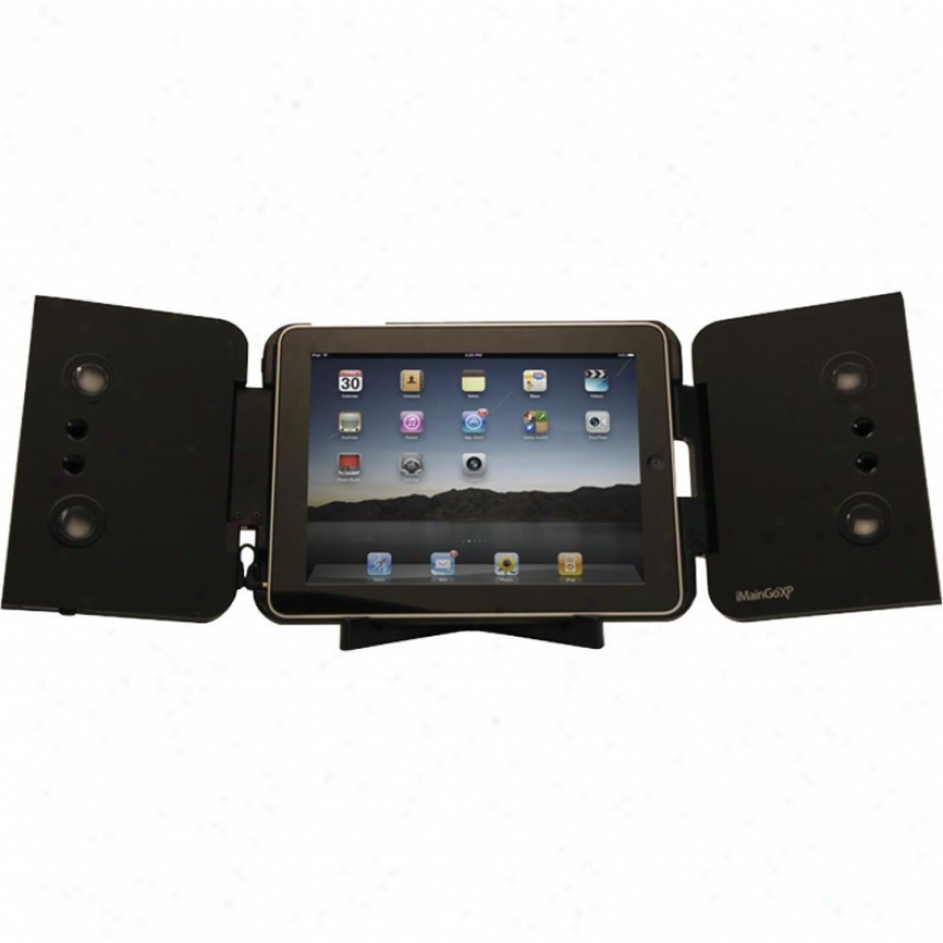 Imaingo Xp Case And Speakers Toward Ipad 1 And 2