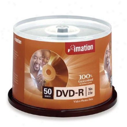 Imation 16x Dvd-r 4.7 Gb 50pk