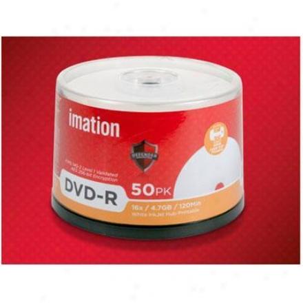 Imation 16x Dvd-r 4.7gb 50pk Defender