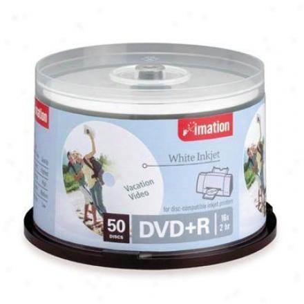 Imation 16x Dvd+r 50pk White Prin5