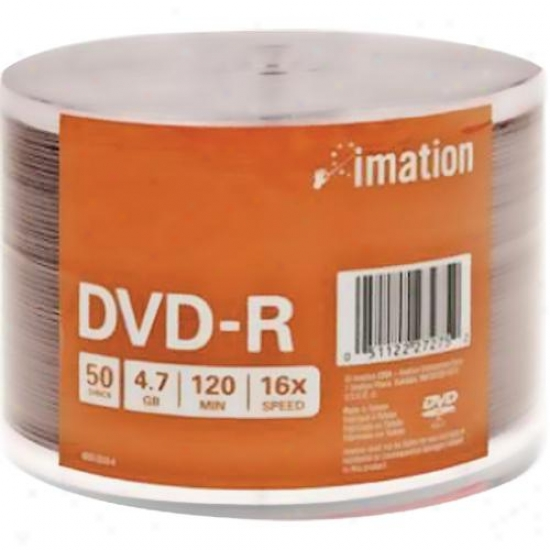 Imation Dvd-r 4.7gb 50pk Shrinkwrappedd