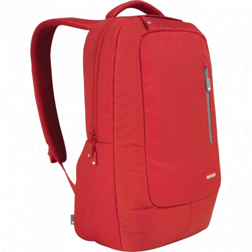 Incase Nylon Compact Backpack - Cl55361 - Pompien Red/lead