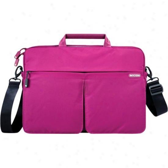 "Incase Nylon Sling Sleeve For 13"" Macbook Pro - Fuchsia/insignia"