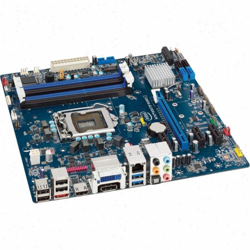 Intel Boxdh77eb Media Series Lga 1155 Intel H77 Intel Micro Atx Motherboard