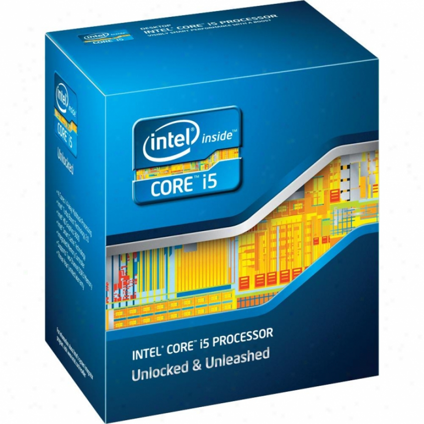 Intel Core I5-3570k3 .4ghz Unlocked Quad-core Desktop Processor - Bx80637i53570k