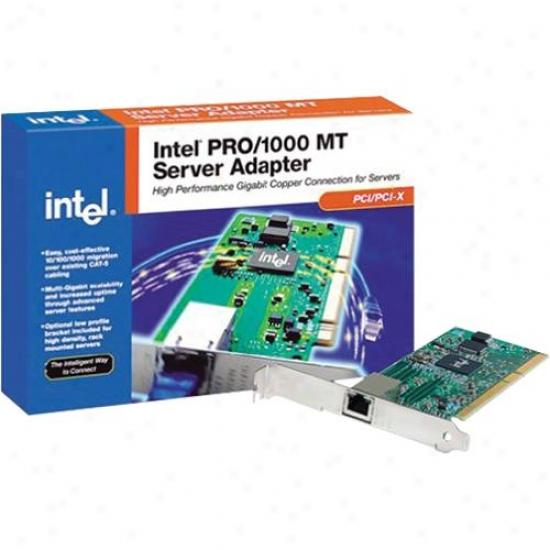 Intel Pci 10/100/1000mbps Sever Adp