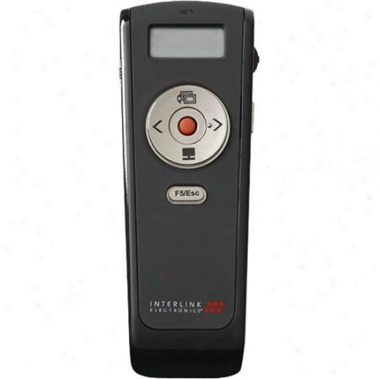 Interlink Vp4560 Wireless Stopwatch Presenter With Laser Pointer