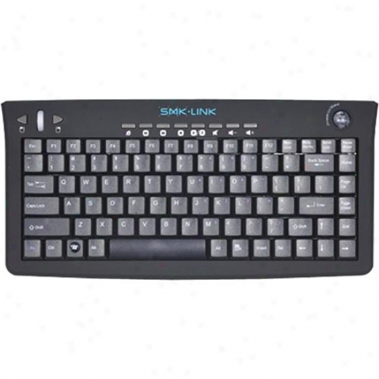 Interlink Vp6310 Versapoint Rechargeable Wireless Media Keyboard