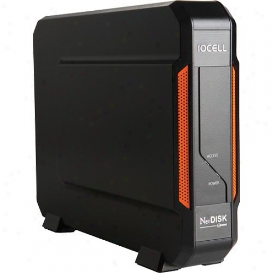 Iocell 351une Netdisk Solo Newfast 1.5tb Network Storage Drive