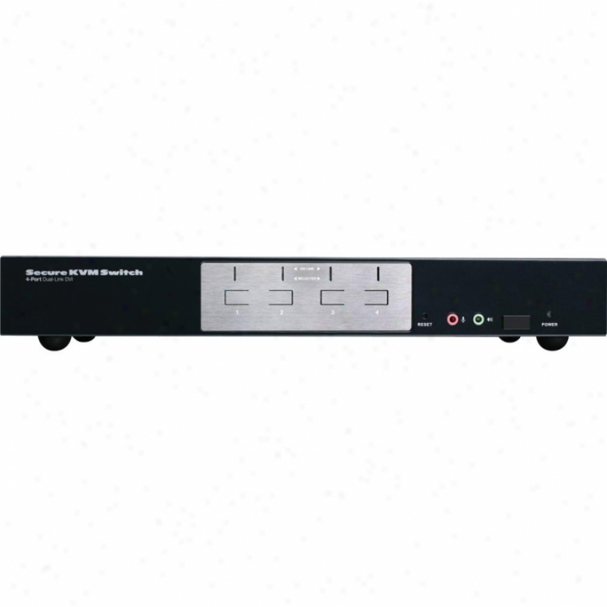 Iogear 4-port Dvi Kvm Switch