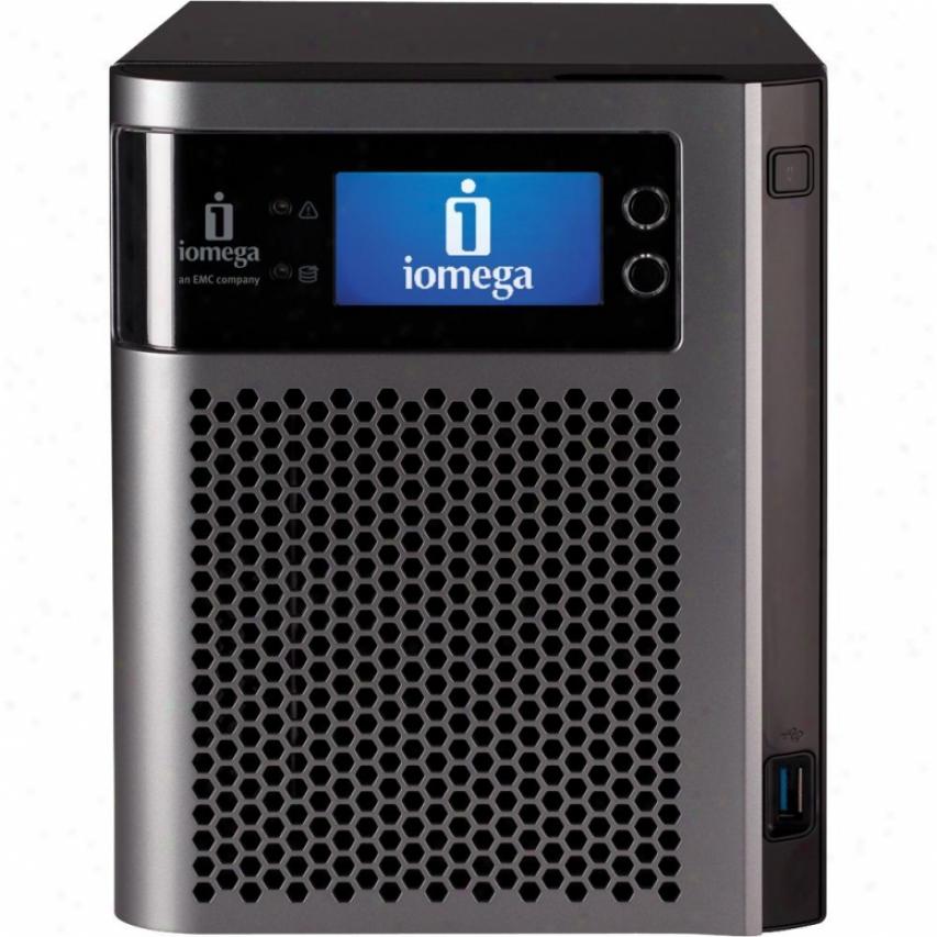 Iomega Storcenter Px4-300d 2tb (2 X 1tb) Nas Server - 35963
