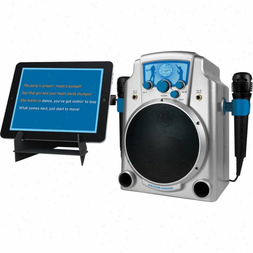 Ion Open Box Karaoke System For Computer & Ipad Iuk1