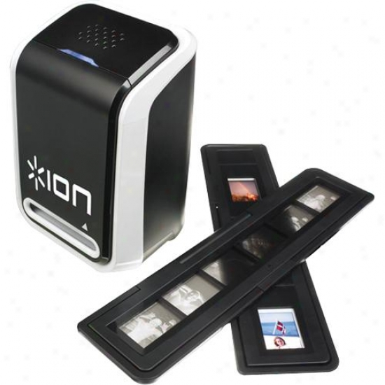 Ion Slides-2-pc 35mm Glide And Film Scanner