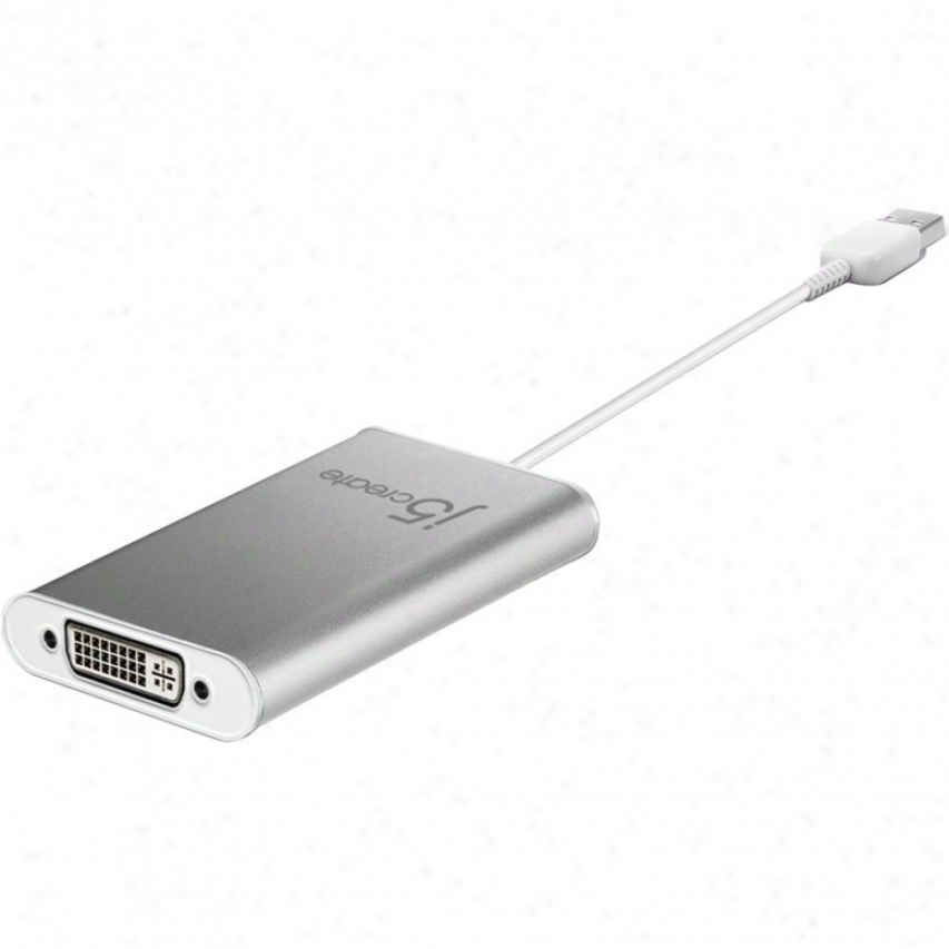 J5 Create Usb 2.0 Dvi Display Adapter
