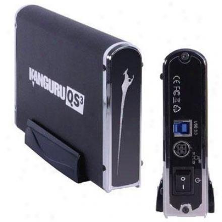 Kanguru Solutions 500gb Qs3 - Usb3.0 Hard Drive