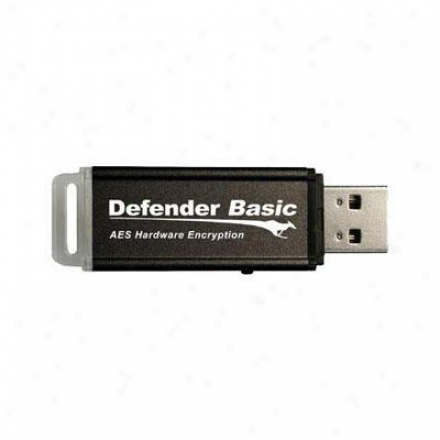 Kanguru Solutions Kdfb-64g Defender Basic 64gb 2.0 Flash Drive - Black
