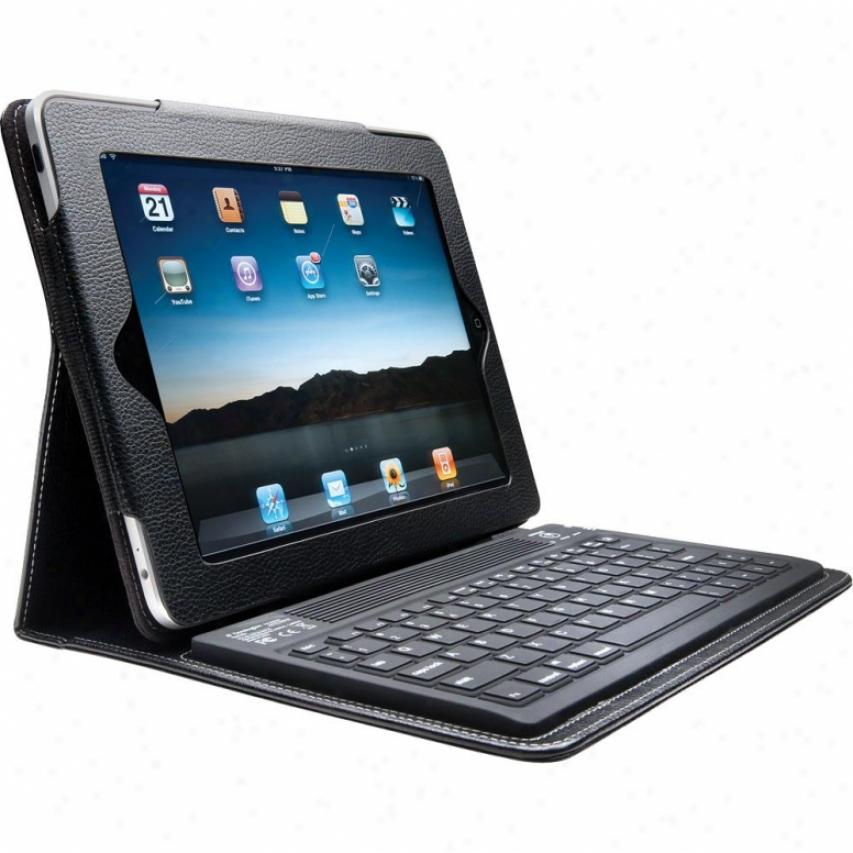Kensington Keyfolio Bluetooth Keyboard Case Toward Ipad & Ipad 2 - K39336us