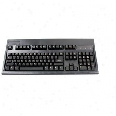 Keytronics Lshape Key, Keyboard Usb Blk