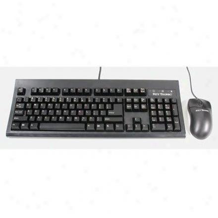 Keytronics Rohs Usb Keyboard And Mouse