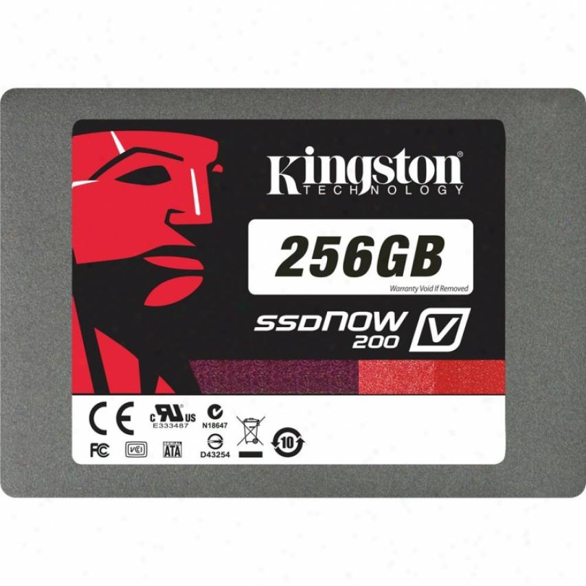 "Kingston 256gb Ssdnow V200 Sata 3 2.5"" Solid State Drive"