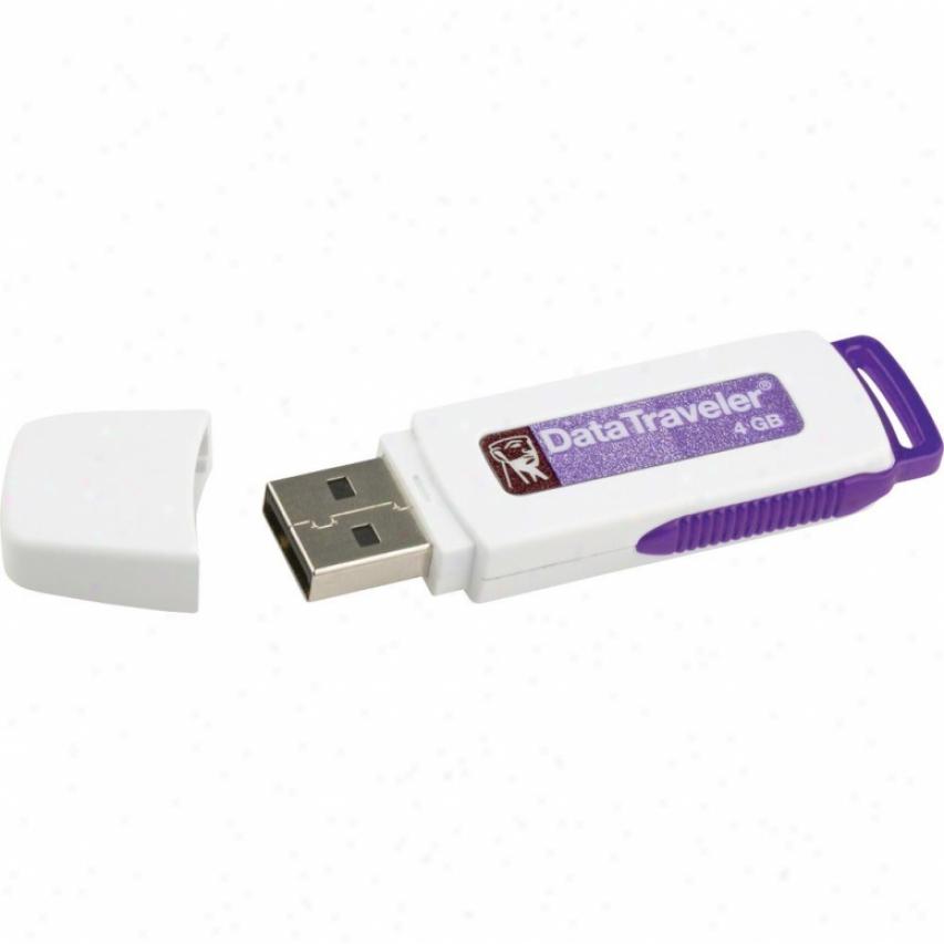 Kingtson Dtl/4gb Data Traveler Locker 4gb Usb Flash Storage Drive